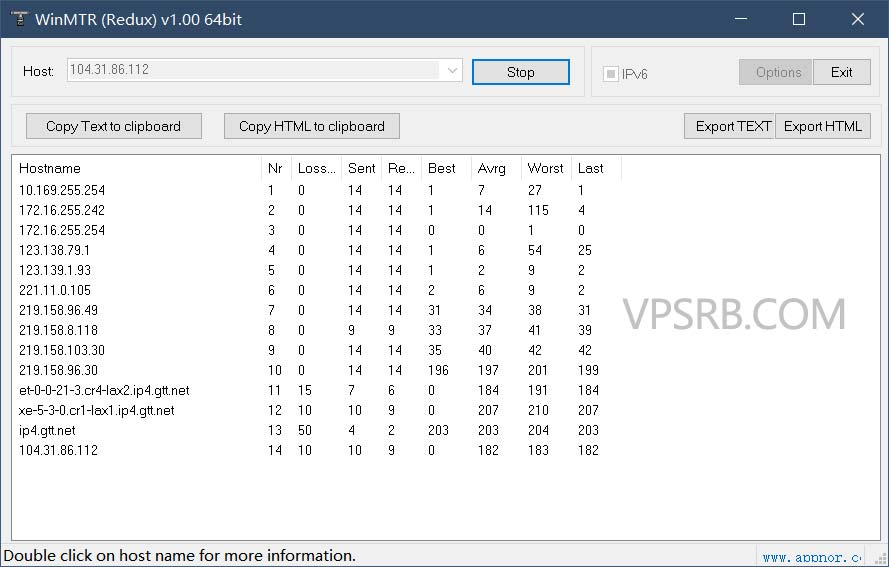路由追踪工具 Best Trace / WinMTR 下载