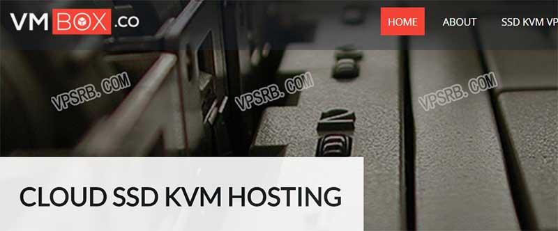 VMBox 洛杉矶,KVM/5 折/512M 内存/1T 流量/1Gbps/月付 2.5 美元