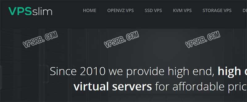 VPSslim 新年优惠 大内存 VPS 2G 内存/25G SSD/2T 流量/1Gbps 月付 4.99 欧元