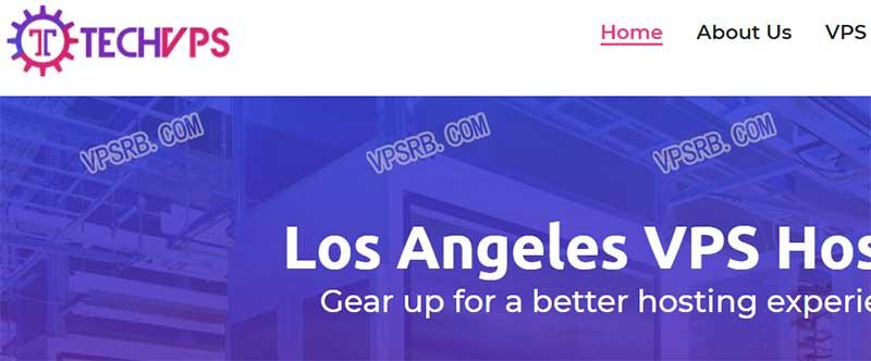 TechVPS 洛杉矶,KVM/512M 内存/1T 流量/100Mbps/年付 9 美元