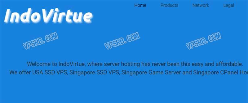 Indovirtue 新加坡,KVM/512M/1 核/20G SSD/500G 流量/月付 7 美元