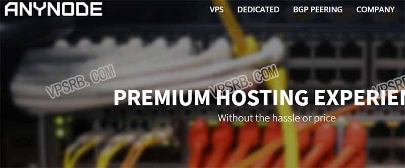 Anynode 256M 小内存 KVM VPS 年付.5 10G/500G 流量/1Gbps/支付宝