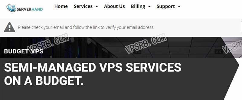 #黑五特惠#Serverhand 洛杉矶 KVM VPS , 年付仅需 10 美元 256M/1 核/15G/ipv6/100Mbps