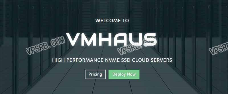 VMhaus 英国,KVM/256M/10Gbps/年付 15 刀,充 30 美元送 10 美元