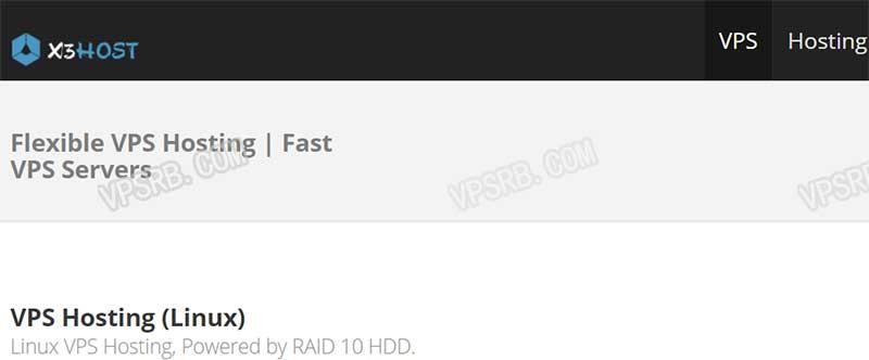 X3Host 年末促销 KVM /年起 OpenVZ 年付/2G 内存/150G 硬盘